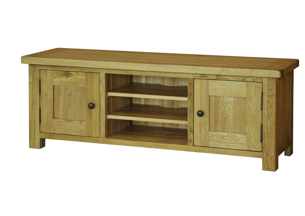 Toulouse Solid Oak Bedroom Furniture Full Hanging Double