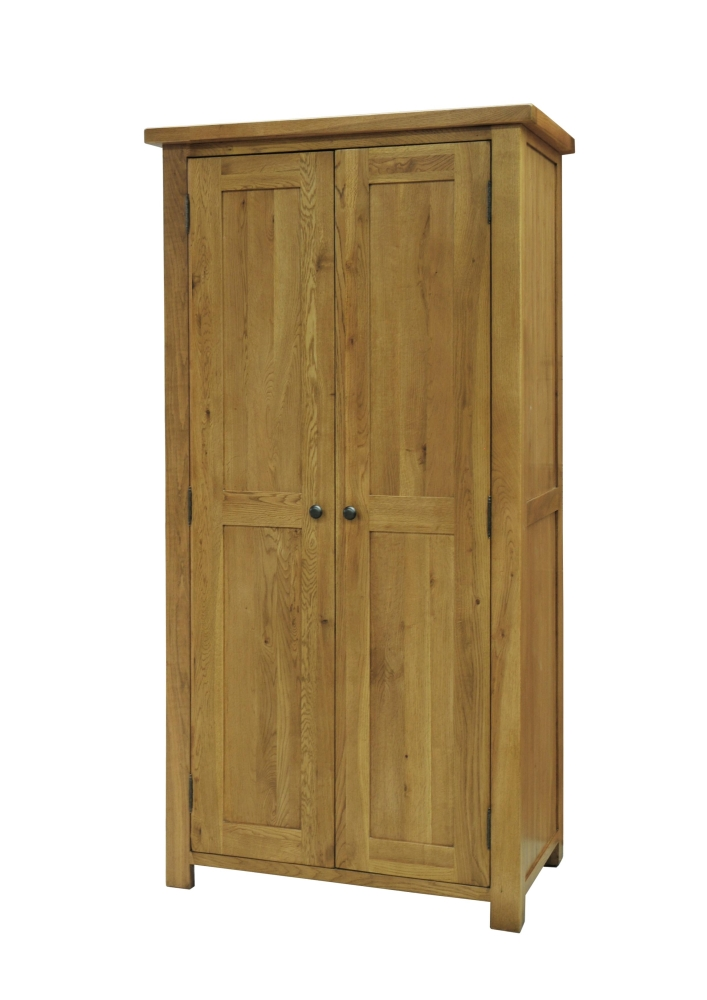 Details About Toulouse Solid Oak Bedroom Furniture Full Hanging Double