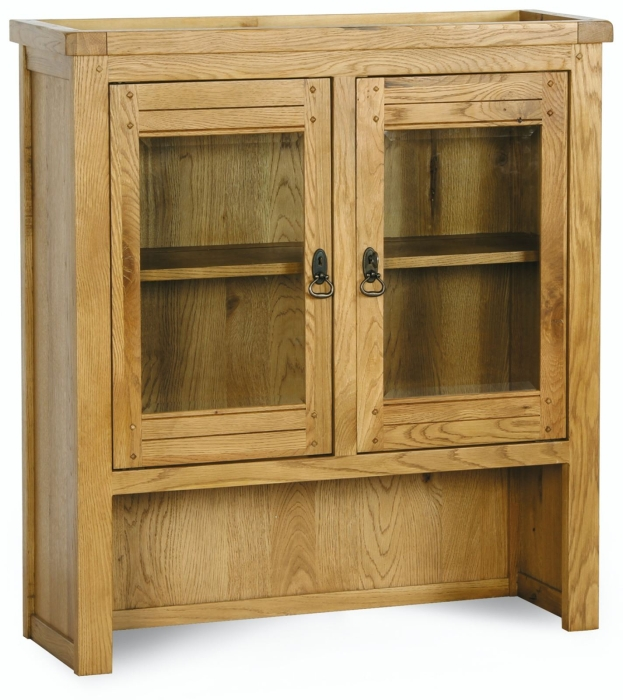 solid oak dining room furniture glazed dresser display cabinet ebay