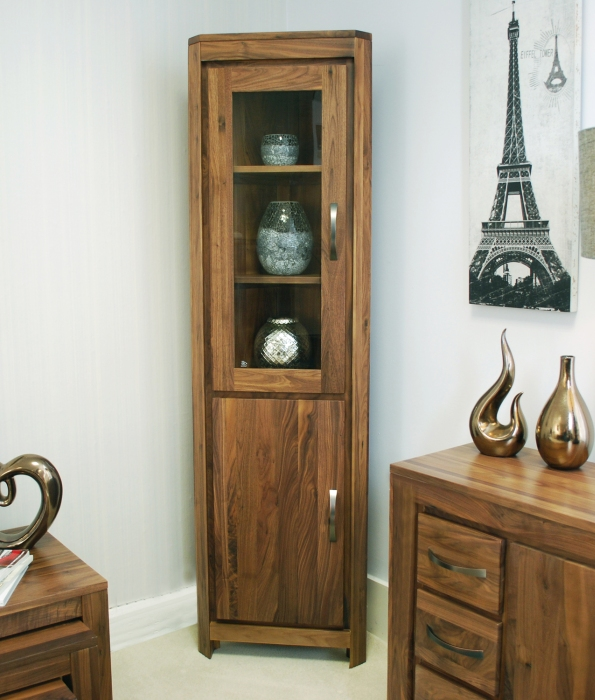 Living Room Cabinet Furniture: Oskar Solid Walnut Home Living Room Furniture Glazed