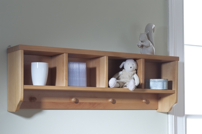 solid childrens bedroom furniture wall mounted storage wall unit shelf