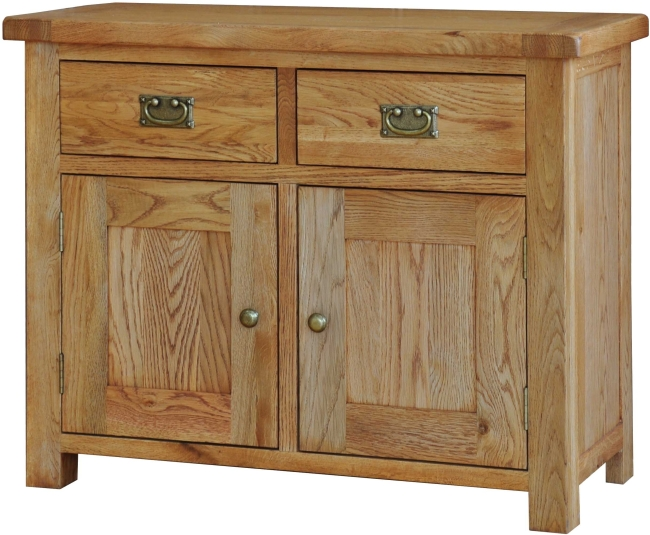 Pendle Solid Oak Furniture Small Dining Living Room Sideboard EBay