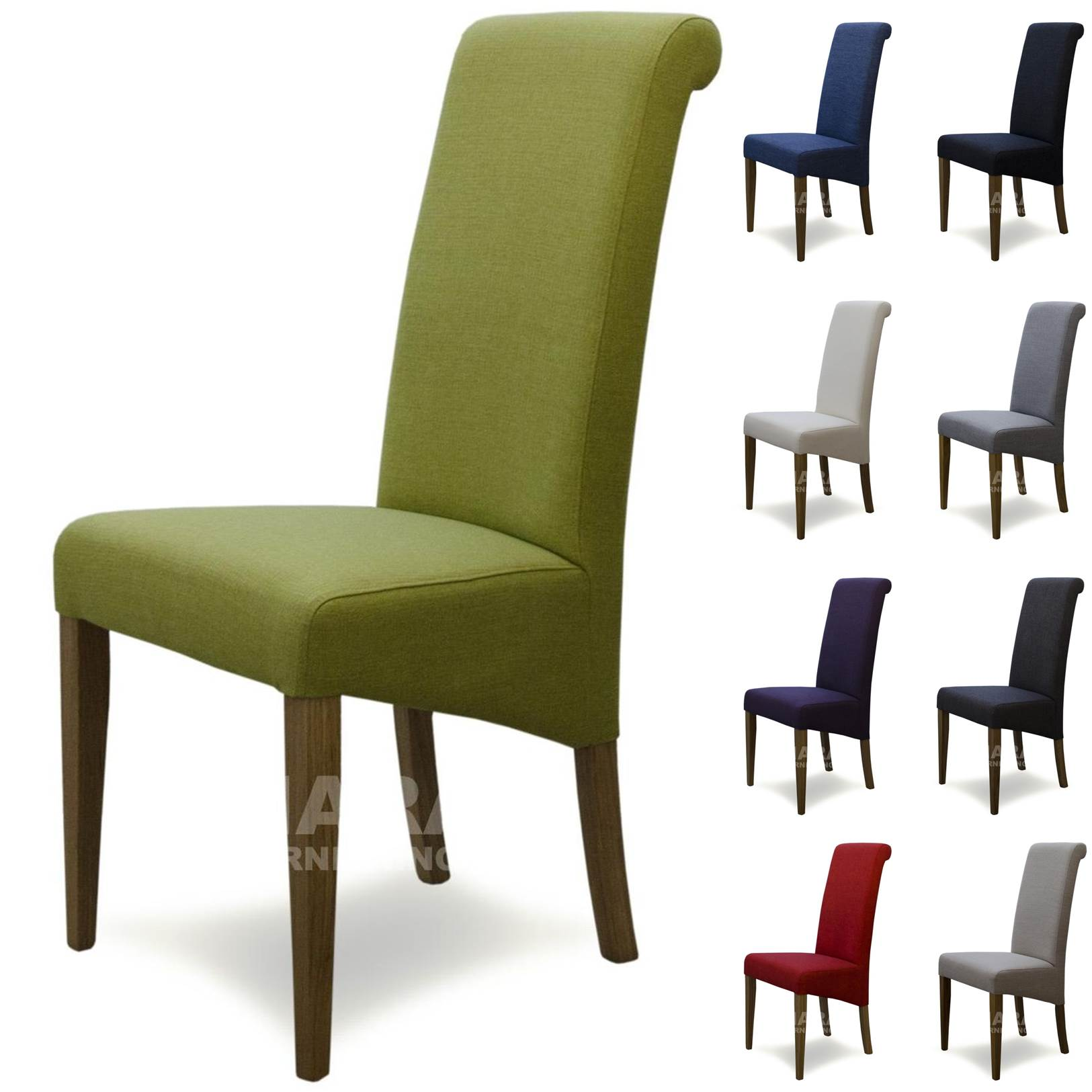 Fabric dining room chairs solid oak high quality furniture for Quality furniture