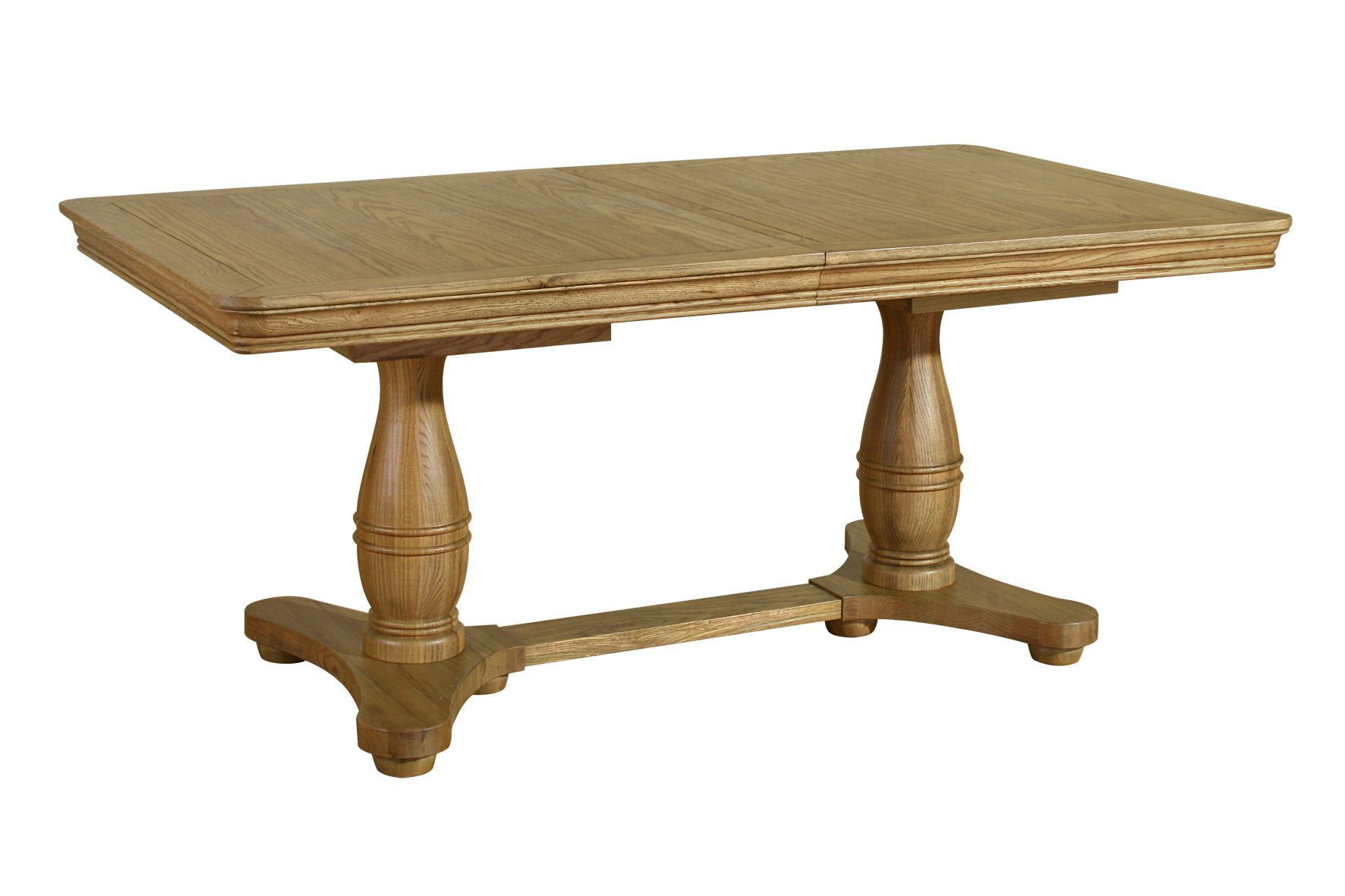 Welland Solid Oak Dining Room Furniture Round Extending
