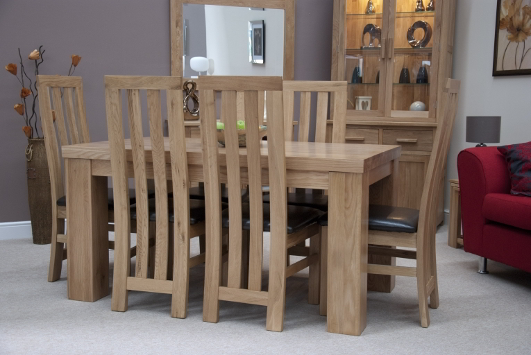 HD wallpapers chunky oak dining table ebay