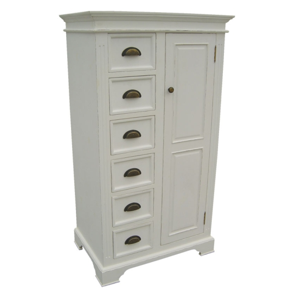 calais white painted pine bedroom furniture single
