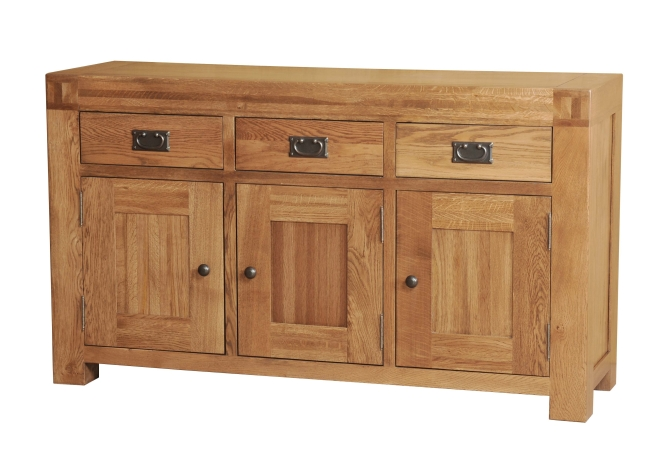 dorset solid oak furniture large living dining room sideboard ebay
