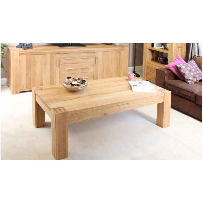 Chunky Living Room Furniture Riva Solid Chunky Walnut Living Room Furniture Coffee Table Ebay