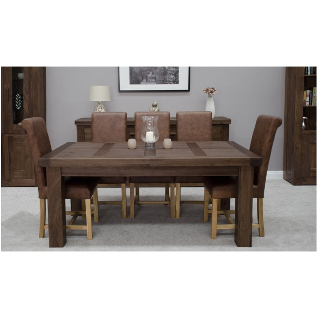fama solid dark wood walnut dining room furniture grand