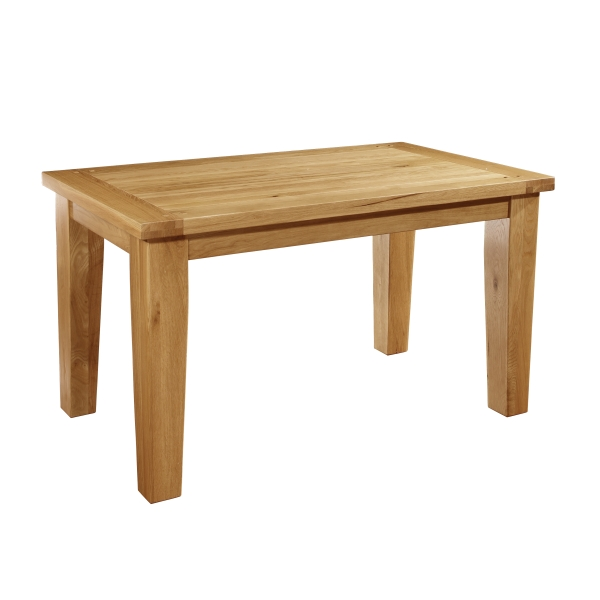 lyon solid oak dining room furniture 140cm dining table ebay