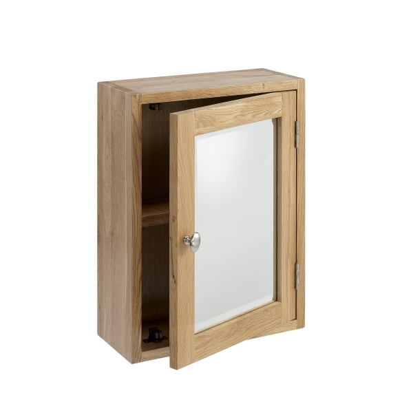 bathroom with this stunning solid oak wall mounted bathroom cabinet