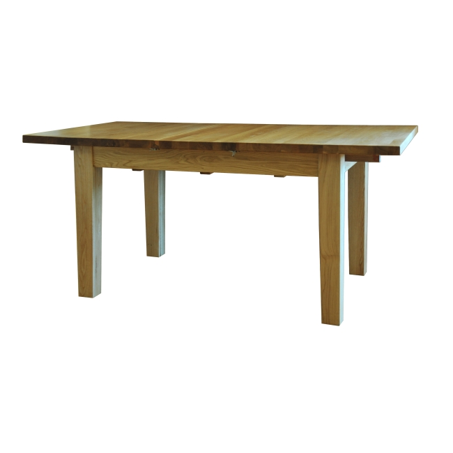 Drake Solid Oak Dining Room Furniture Small Extending Dining Table Ebay