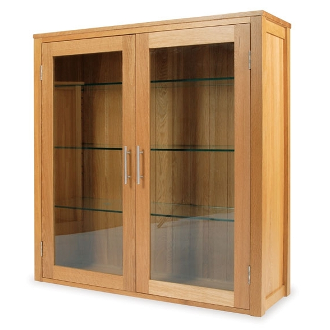 solid oak dining room furniture small dresser display cabinet ebay