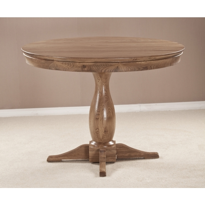 Marseille Solid French Oak Dining Room Furniture Round