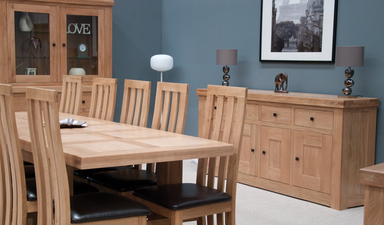 Light Oak Living Room Furniture Belgrave Solid Premium Oak Living Dining Room Furniture Small