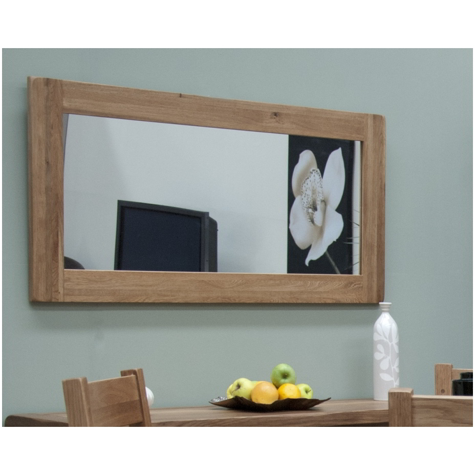 rustic oak hallway living room furniture large wall mirror ebay