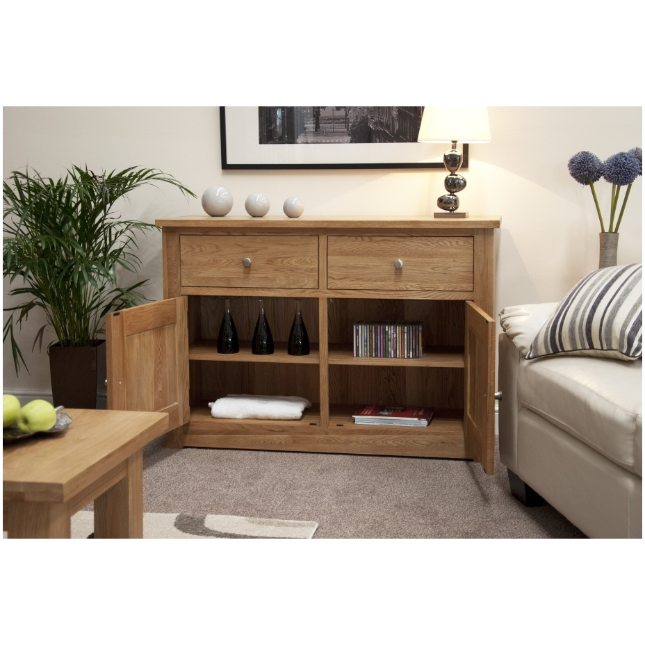 kingston solid oak living dining room furniture storage