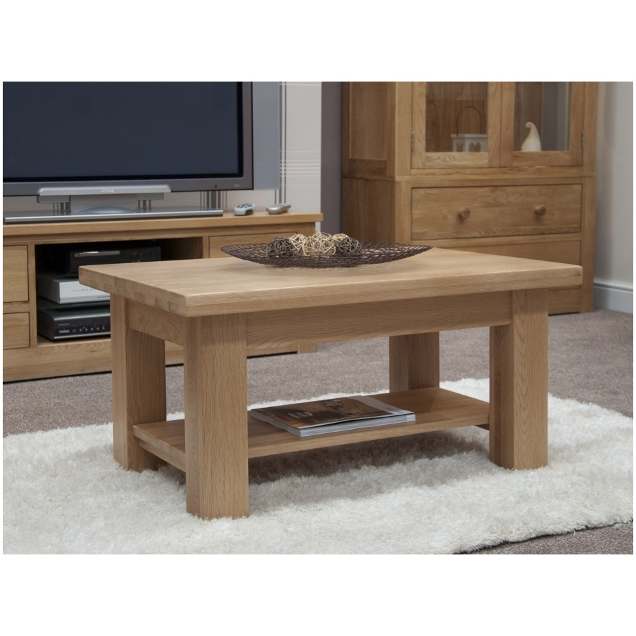 solid oak living room lounge furniture living room coffee table ebay