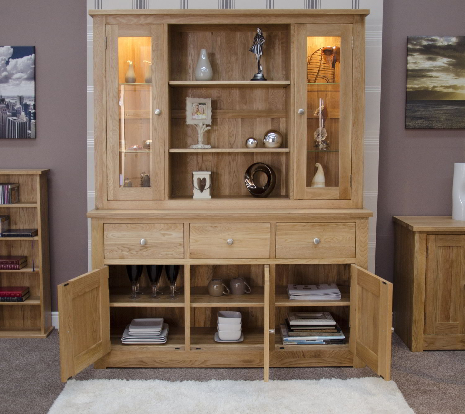 Office Furniture Bookcases With Doors Trend Home Design