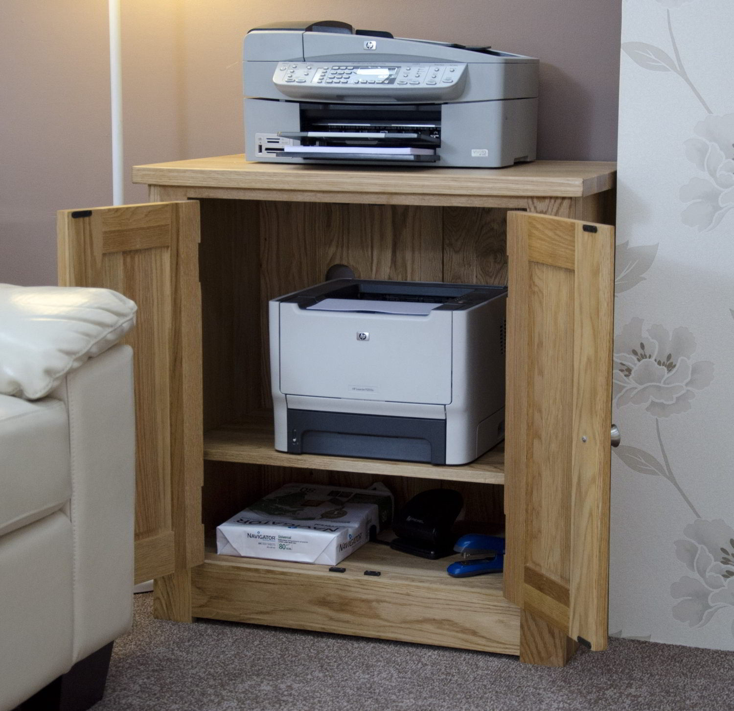 Houseofaura Desks With Printer Storage