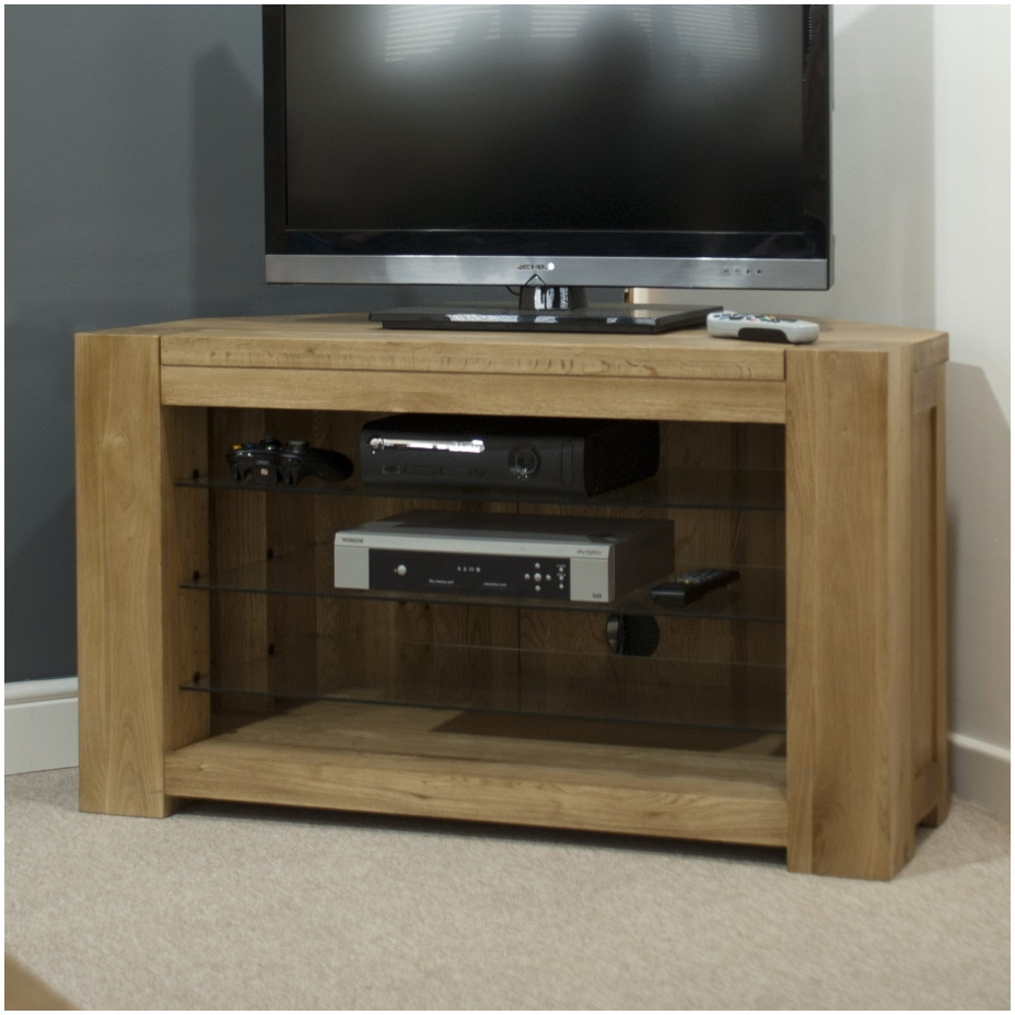 Oak Cabinets Living Room Pemberton Solid Oak Living Room Furniture Corner Television