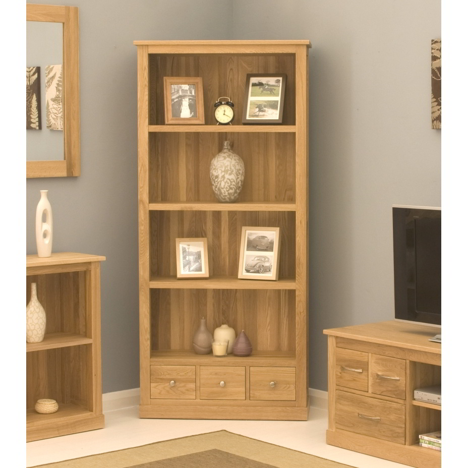 Conran solid oak modern furniture large office living room