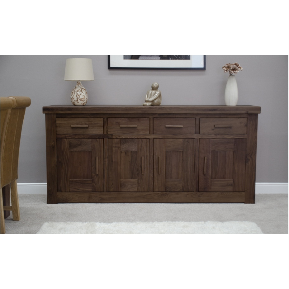 Kendo Solid Walnut Living Dining Room Furniture Extra