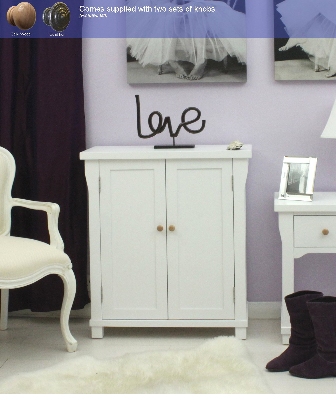 New england white painted hallway furniture shoe storage for New england furniture