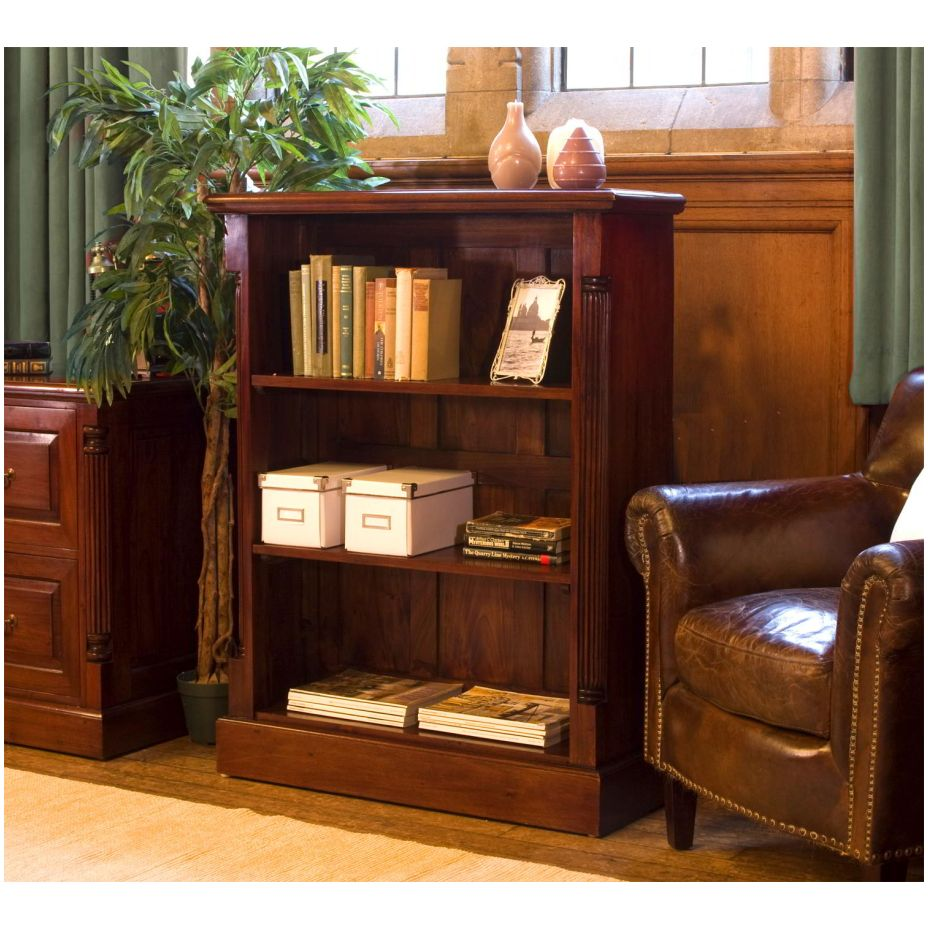 Chateau solid mahogany furniture low living room office for Low living room furniture