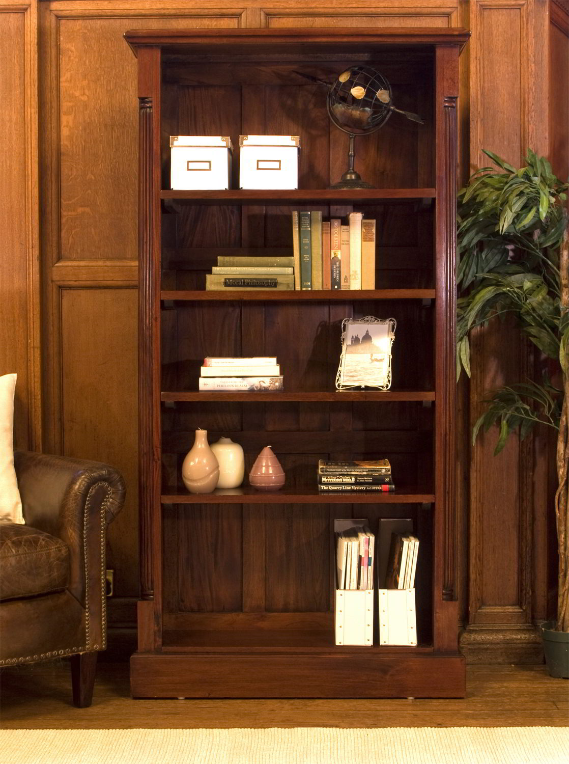 Chateau solid mahogany furniture large living room office for Mahogany living room ideas