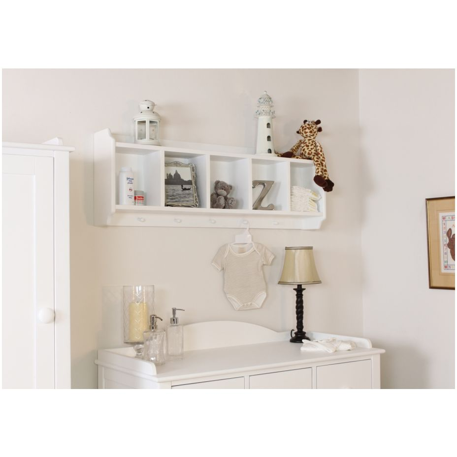 painted childrens bedroom furniture wall mounted storage unit ebay