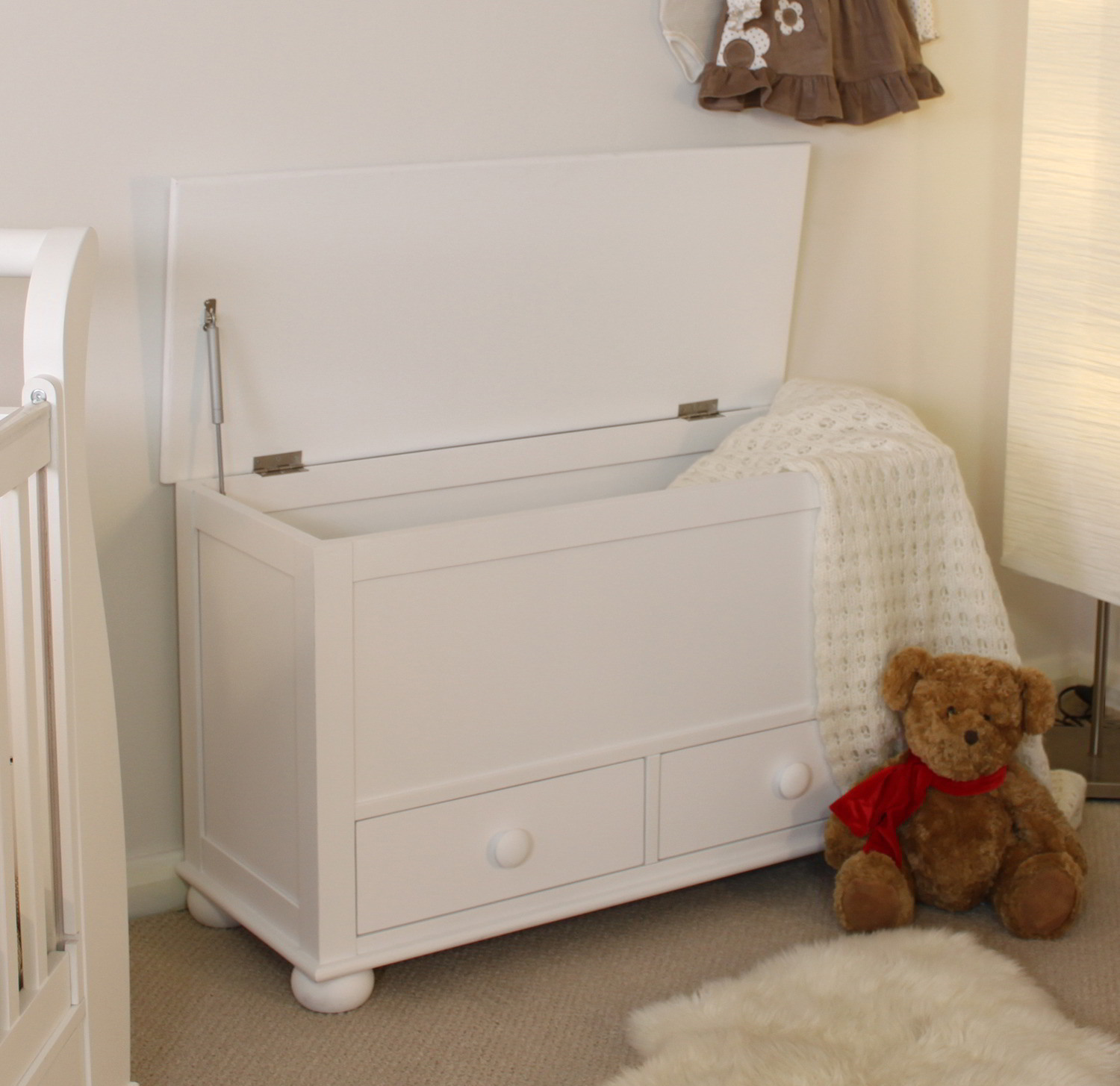 linden white painted childrens bedroom furniture toy