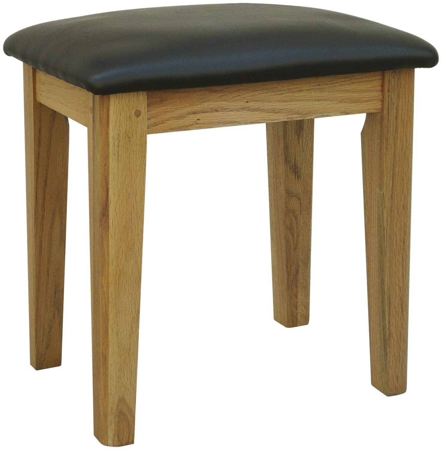 Linden solid oak bedroom furniture dressing table stool  eBay