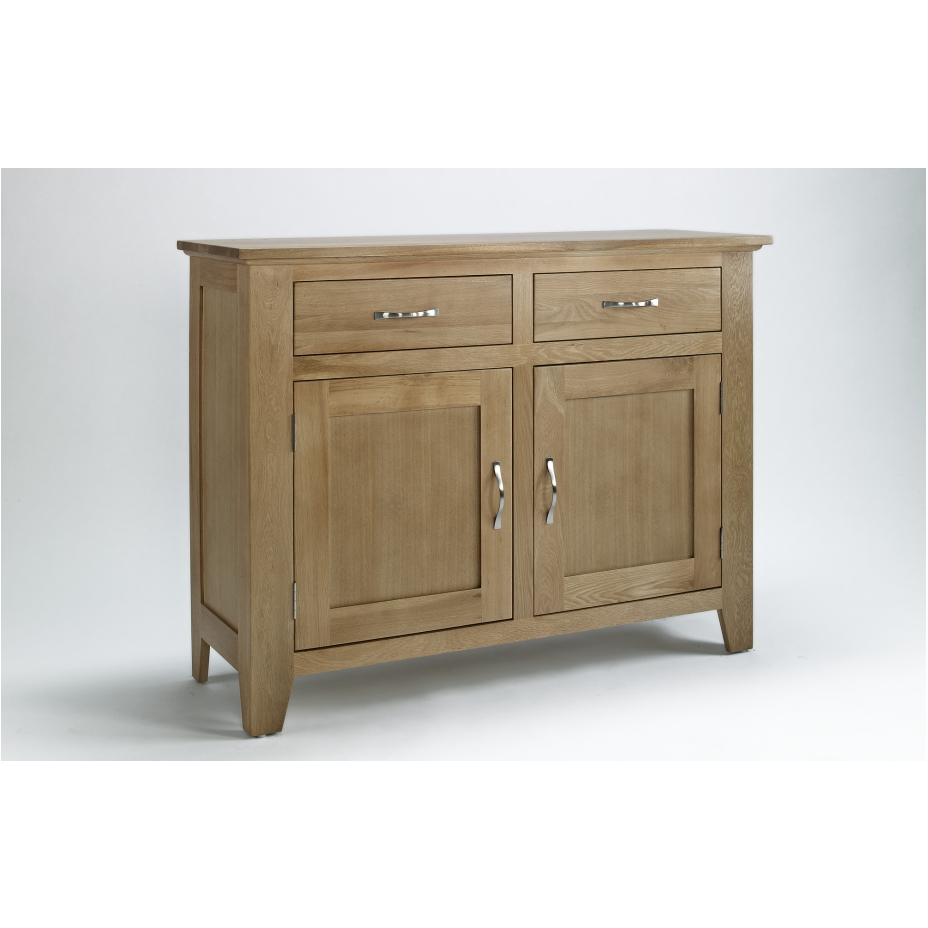 Compton Solid Oak Furniture Small Living Dining Room Storage Sideboard EBay