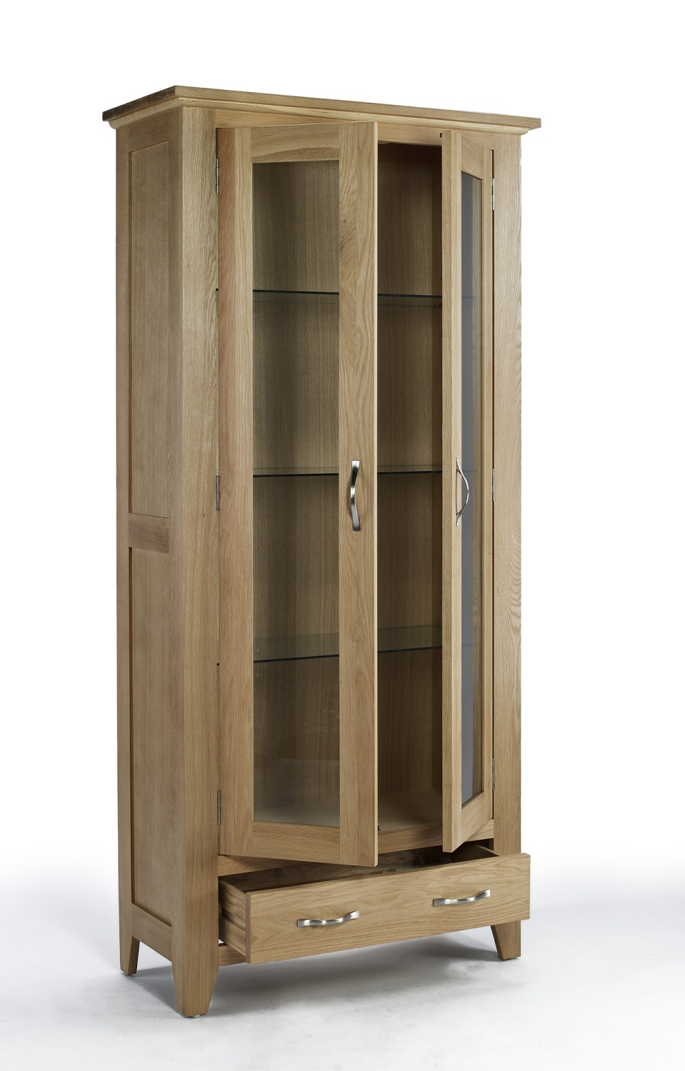 Compton Solid Oak Furniture Living Room Hallway Display