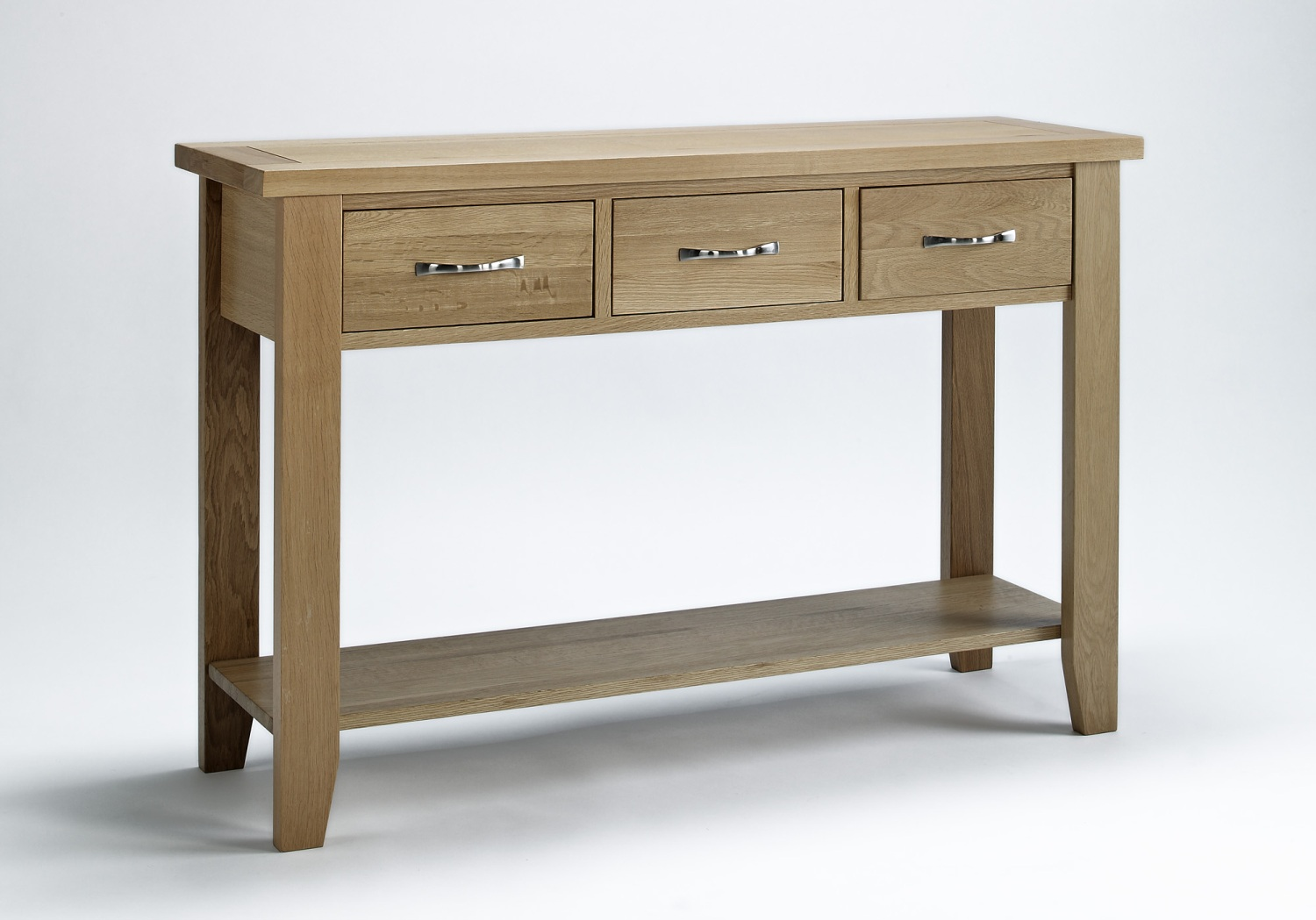 compton solid oak furniture large hallway console hall