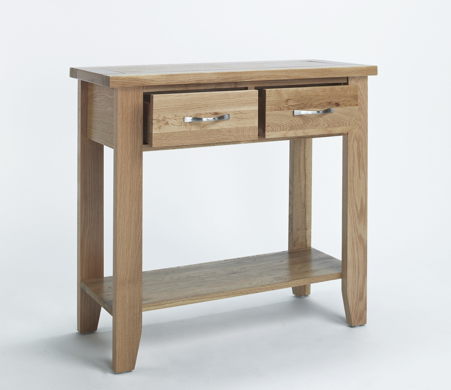 compton solid oak furniture small hallway console hall. Black Bedroom Furniture Sets. Home Design Ideas
