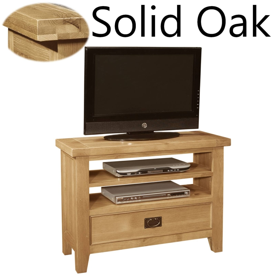 panama solid oak furniture living room small television cabinet stand