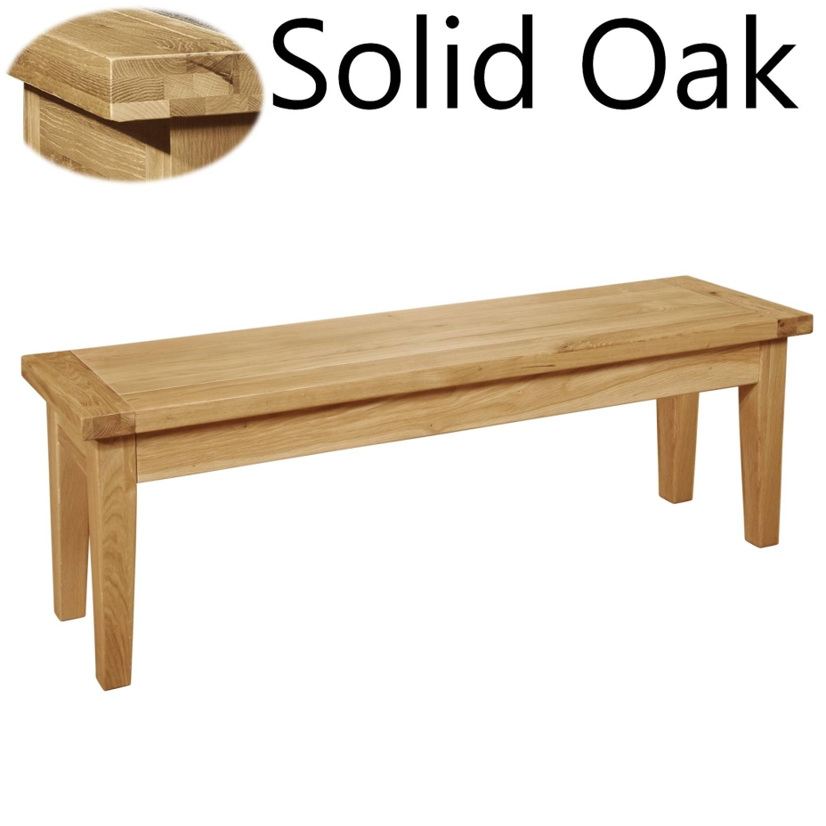 Panama Solid Oak Furniture Dining Room Bench Ebay