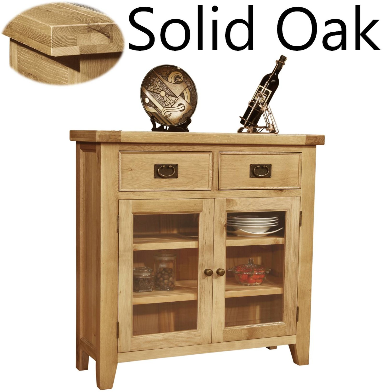Great Panama solid oak furniture living dining room glazed sideboard chest 1500 x 1500 · 238 kB · jpeg