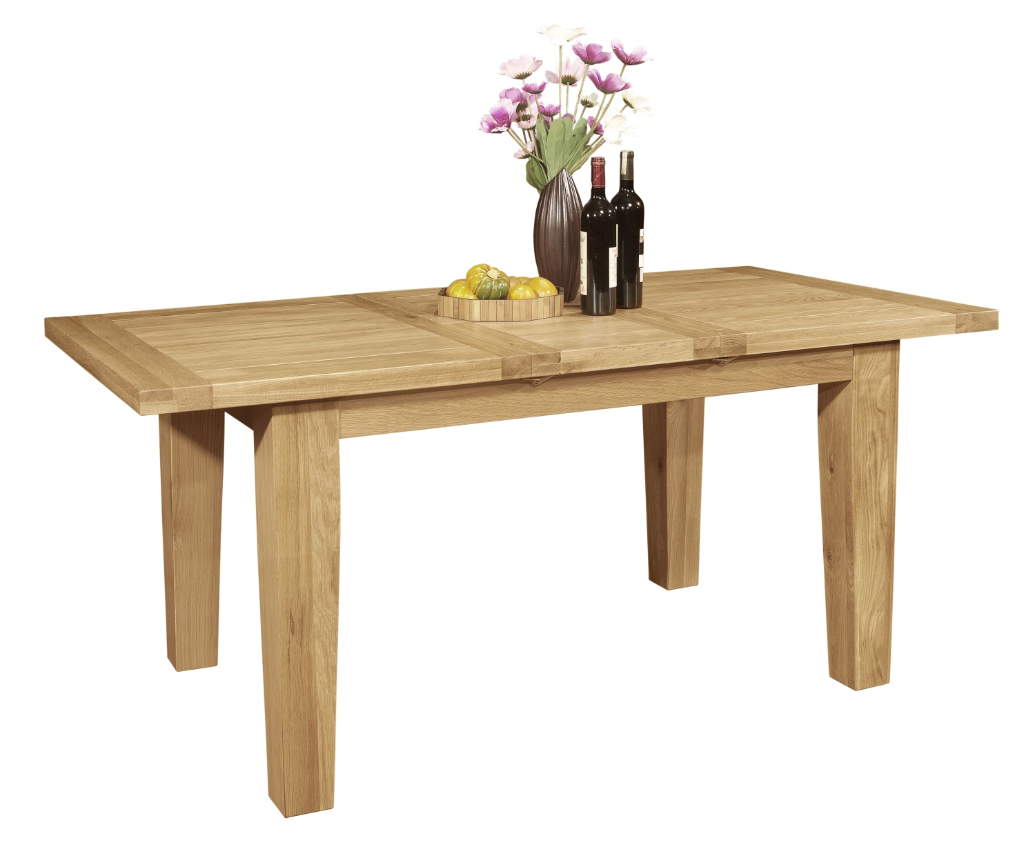 Wonderful image of Panama solid oak furniture 180cm extending dining table with #A99122 color and 1500x1244 pixels