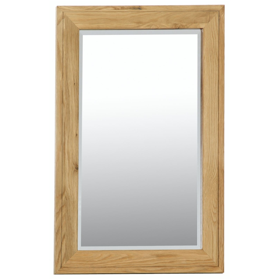 Cotswold solid oak furniture bathroom bedroom wall mirror for Wall mirrors for bedrooms