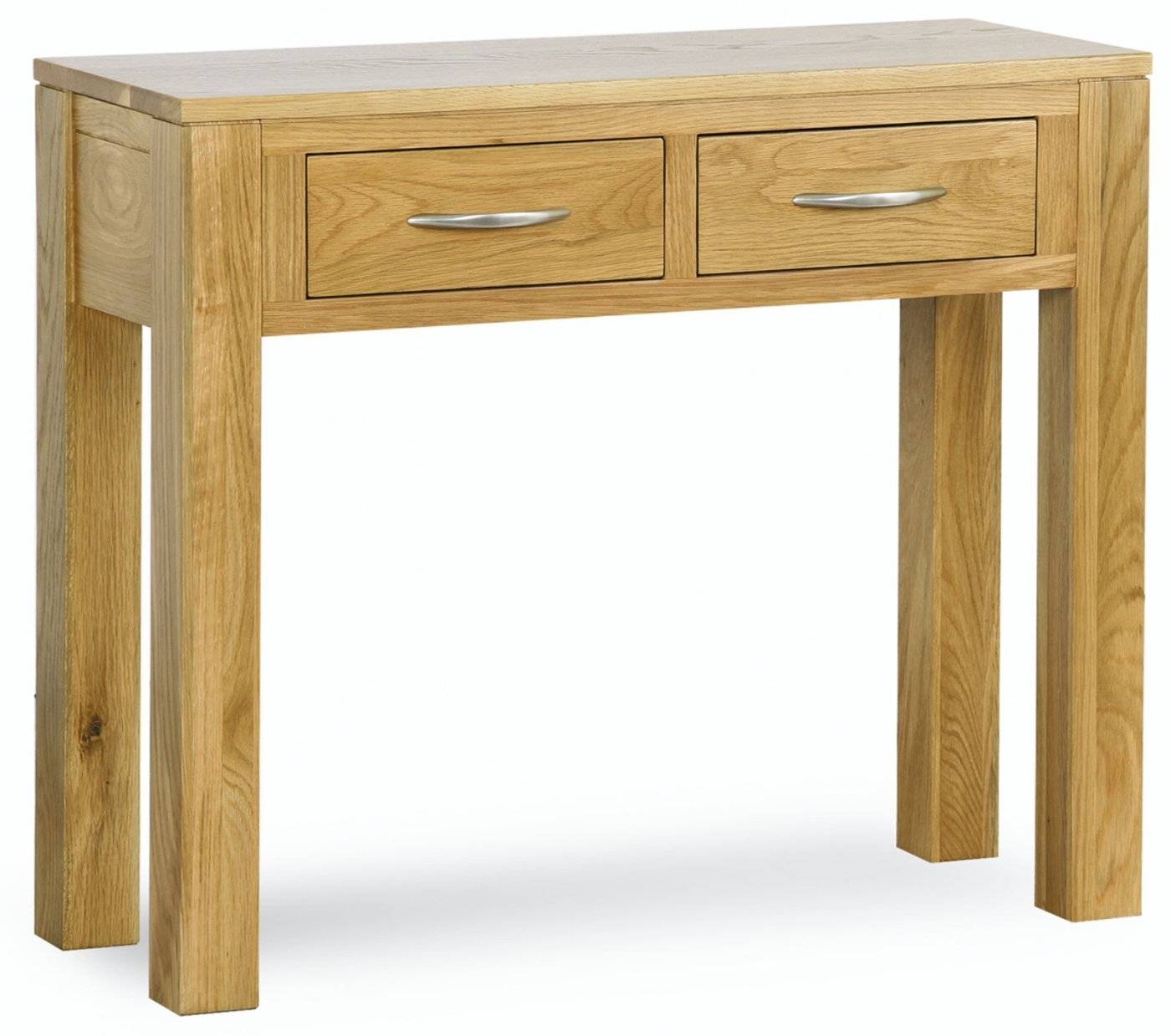Cotswold solid oak living room hallway furniture two for Console hallway table furniture