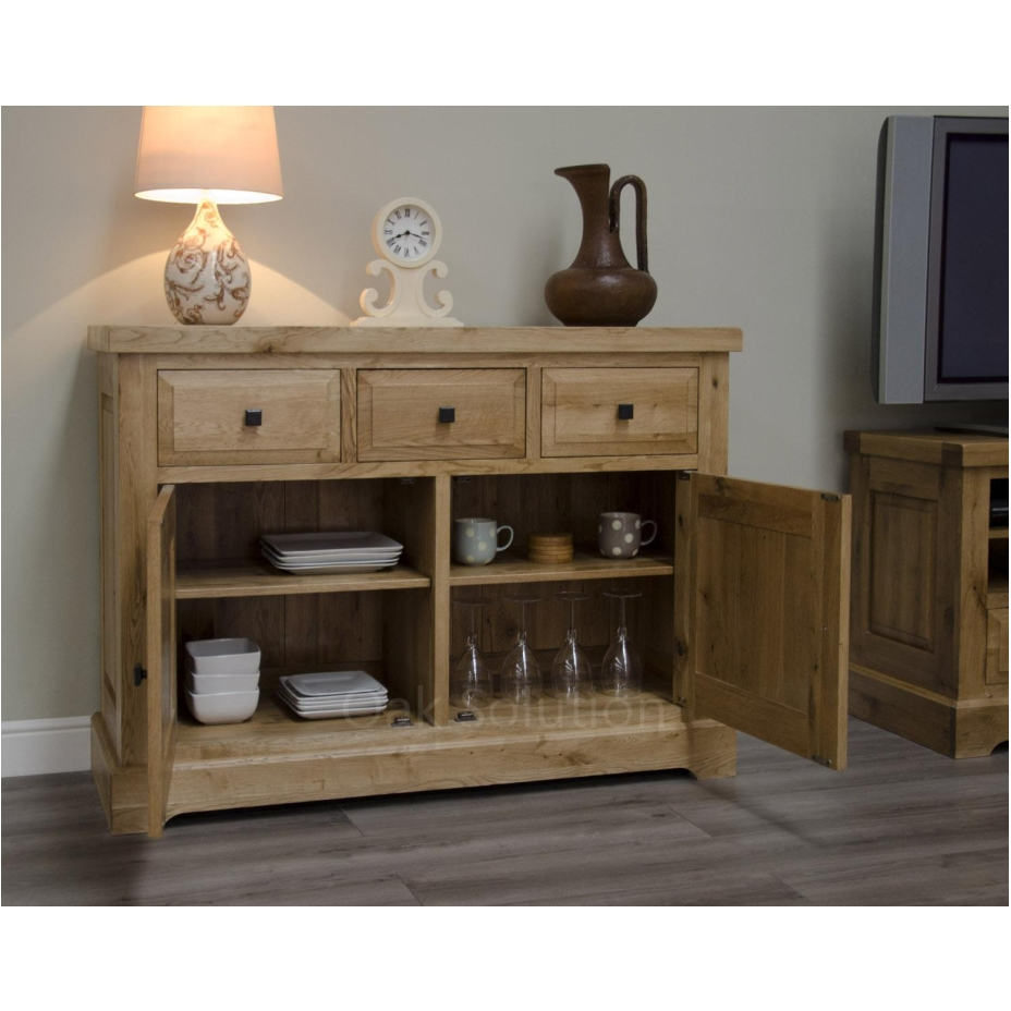 regent solid oak furniture small living dining room sideboard ebay