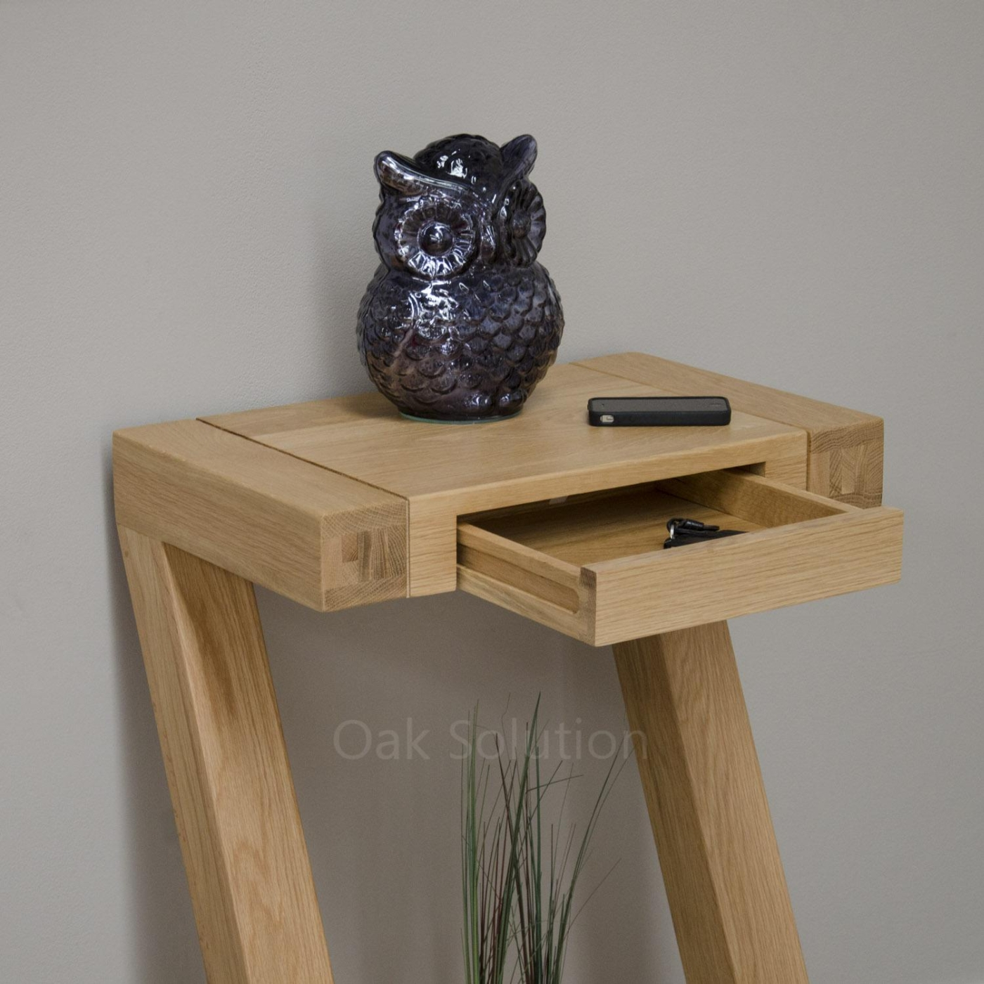 Z solid oak designer furniture small hall console hallway  : 66565 from www.ebay.co.uk size 1400 x 1400 jpeg 852kB
