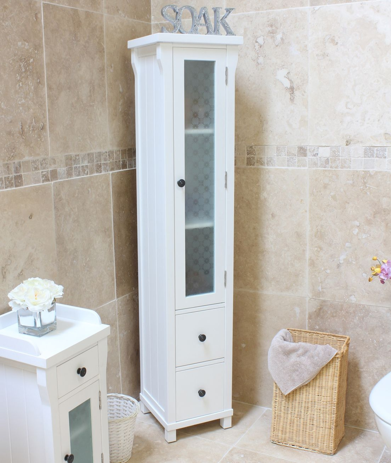 24 awesome white bathroom storage unit for Bathroom cabinets 250mm