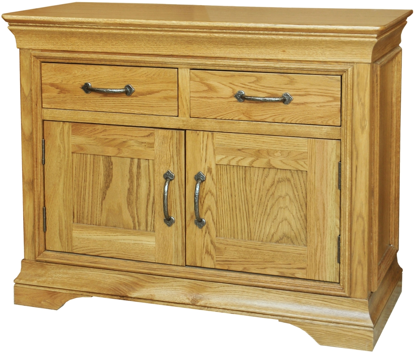 Toulon Solid Oak Furniture Small Storage Living Dining Room Sideboard EBay