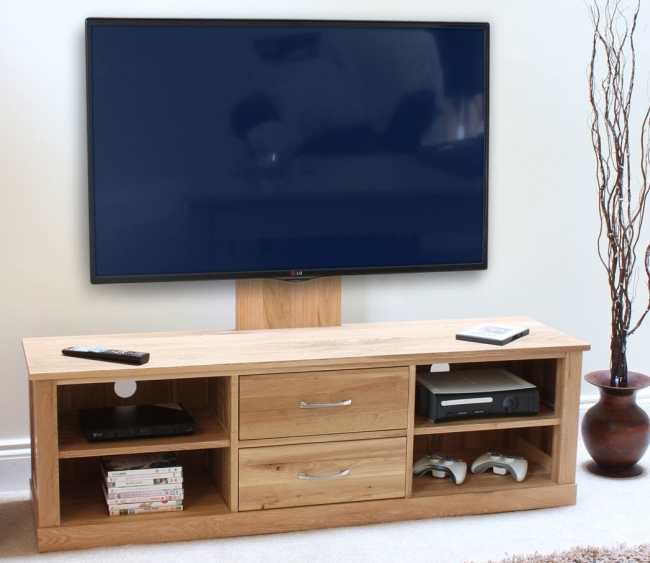 Details About Nara Solid Oak Furniture Television Cabinet Stand Wall Mounted Unit