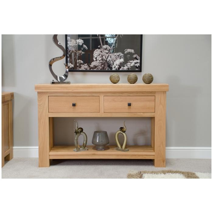 Phoenix Solid Oak Hallway Furniture Console Hall Table