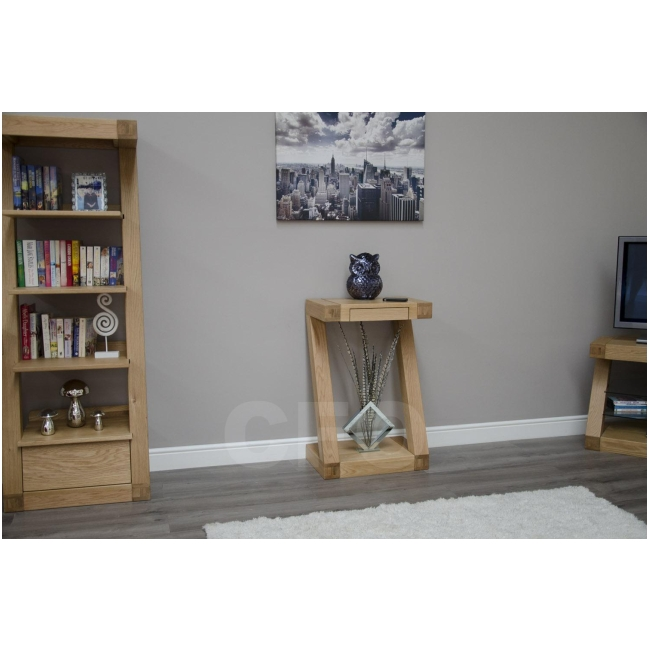 small hall furniture. zouk solid oak designer furniture small hall console hallway table l